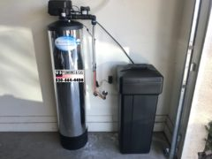 Full line water softener installation 3