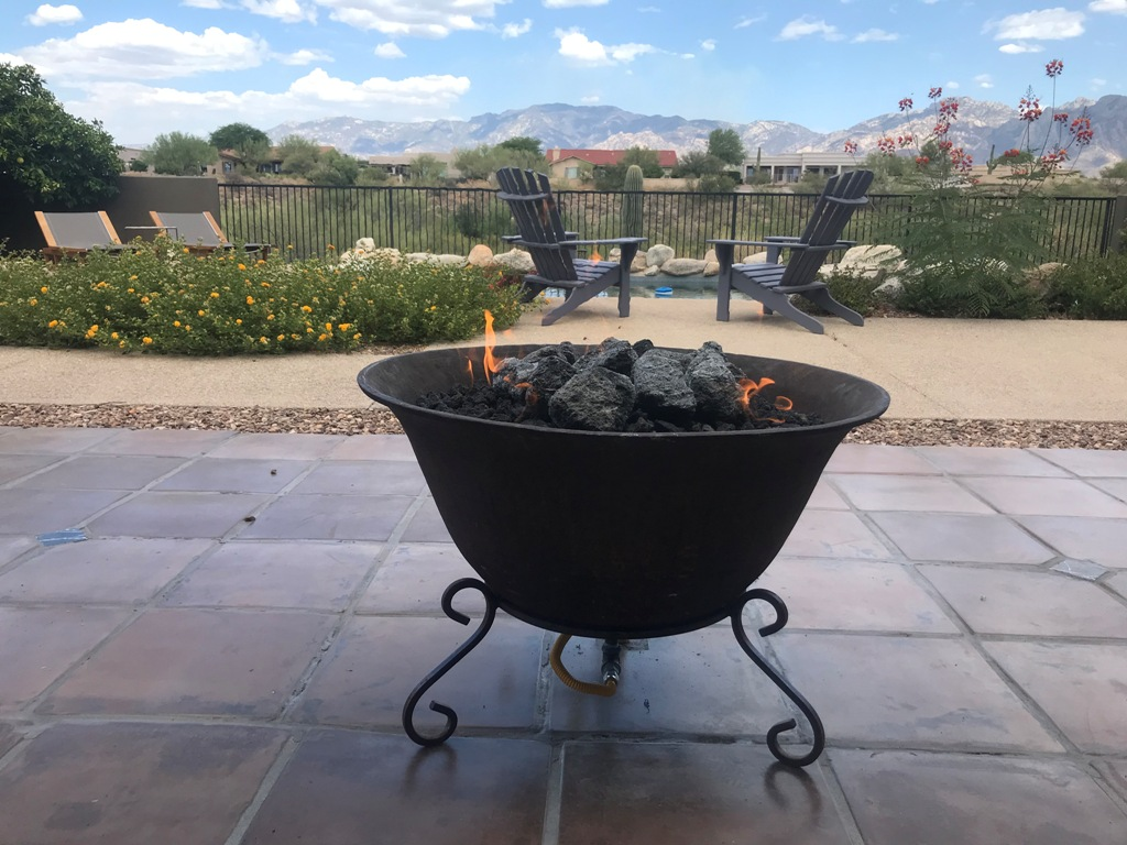 installing a gas line to a fire pit 5